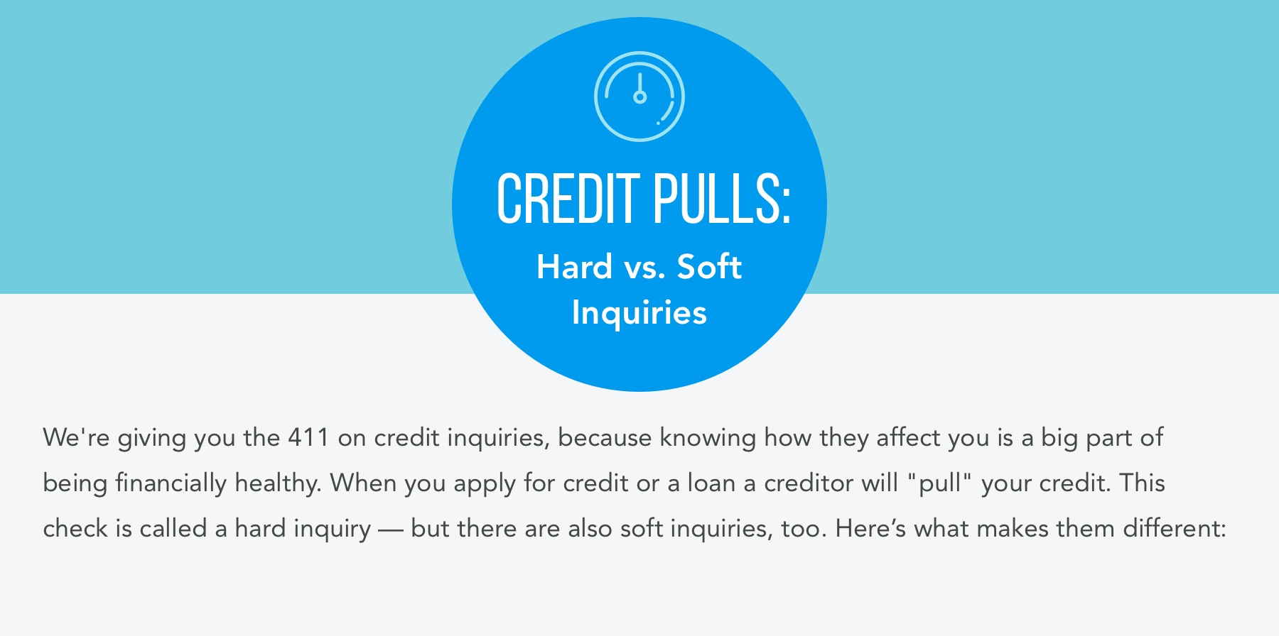 Credit Pulls: Hard vs. Soft Inquiries